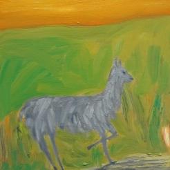 Helle, oil on canvas, 30x30 cm, 2017