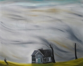 Storm, 150x120 cm, oil on canvas, 2014