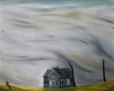 Storm, 150x120 cm, oil on canvas, 2014