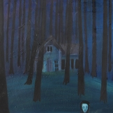 Hulda's house, 40x47 cm, oil on canvas, 2015
